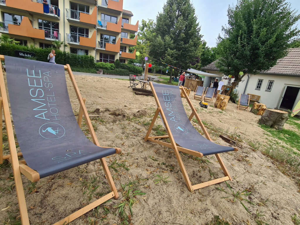 Immer von Donnerstag bis Sonntag eröffnet in diesem Sommer die Strandbar Amsee in Waren.