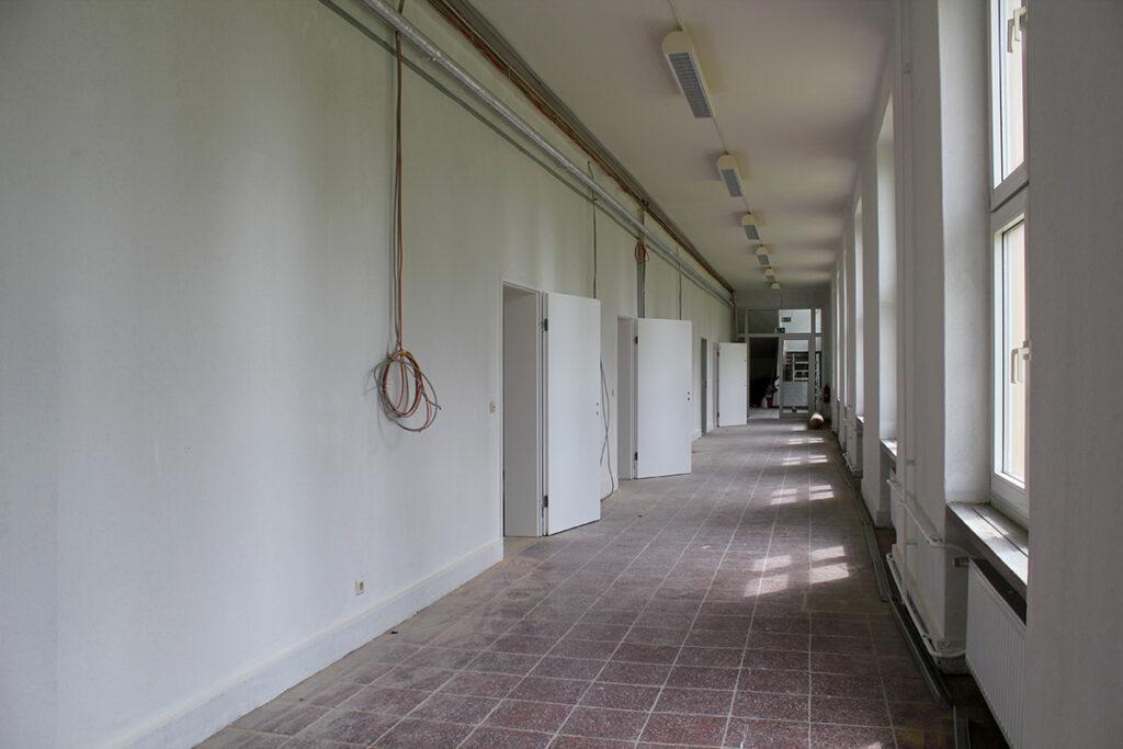 Viel Platz in den Räumen der neuen Kulturschule Malchin. Foto: Manuela Heberer